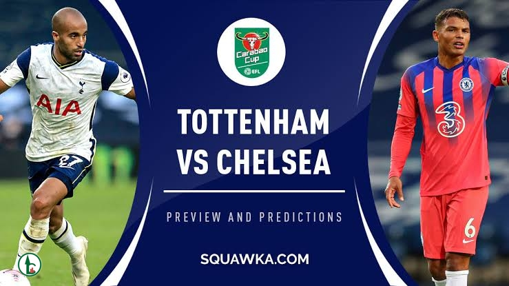 STREAM LIVE: Tottenham Vs Chelsea [Watch Now] CARABAO CUP 2020/2021