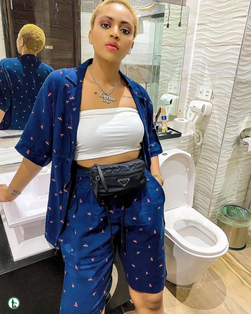 Regina Daniels Shows Her Bathroom On Social Media And Her Fans Go Haywire