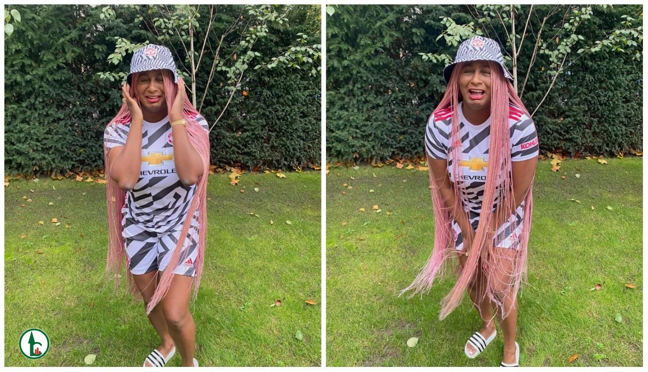 Man Utd Vs Arsenal: When You See Your Ex Doing Well Without You – Cuppy Shows Off Football Skill (Video)
