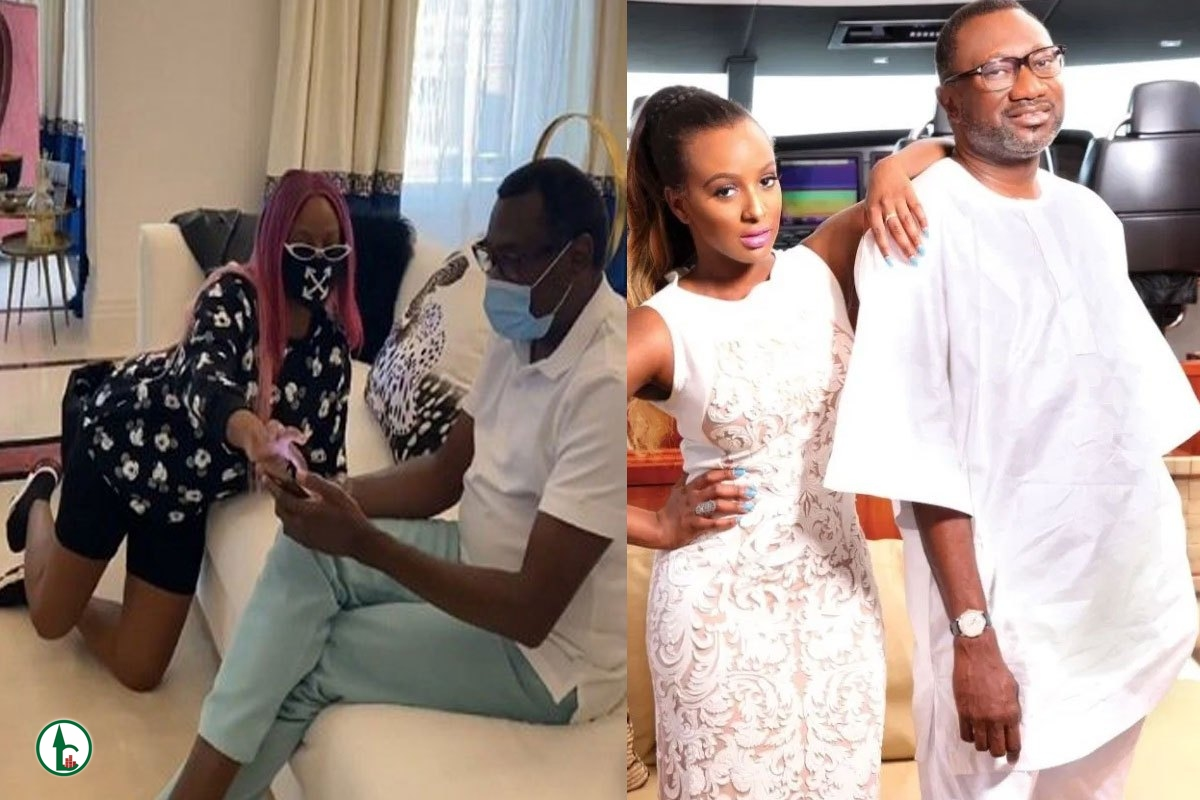 Papa Help Us Please – DJ Cuppy Cries To Her Father As Her Ex And New Lover Clash